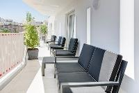 awesome balcony of Cannes Charming Apartment Coté Sud luxury home