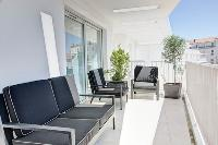 awesome terrace of Cannes Charming Apartment Coté Sud luxury home