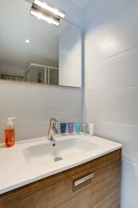 neat and trim lavatory in Cannes Charming Apartment Coté Sud luxury home
