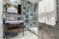 awesome bathroom interiors of Cannes Starlette IV Apartment luxury home